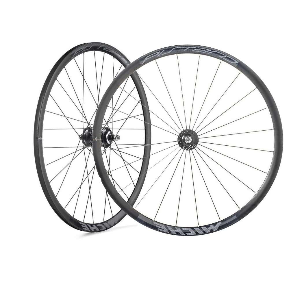 ruota anteriore pistard wr copertoncino nero silver MICHE Bicicletta