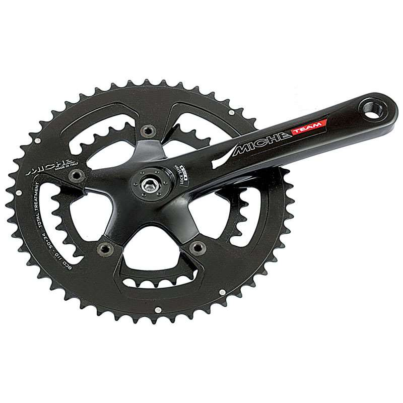 GUARNITURA CPT TEAM COMPACT 34/50T 172MM BLACK