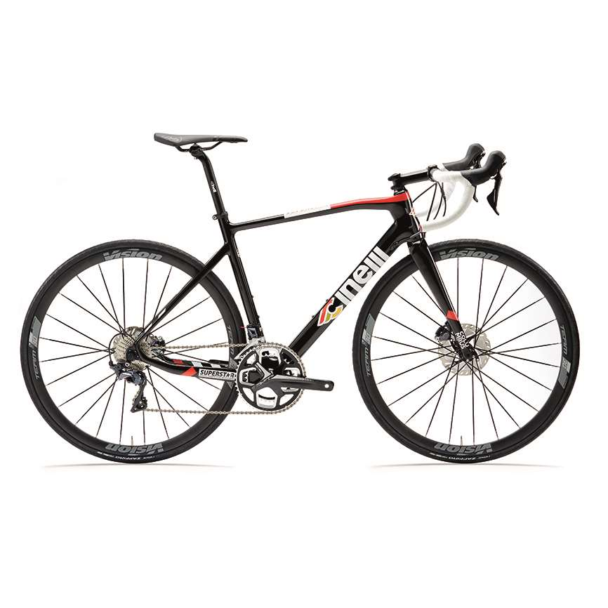 SUPERSTAR DISC BLACK CAT 2021 (ULTEGRA DI2)