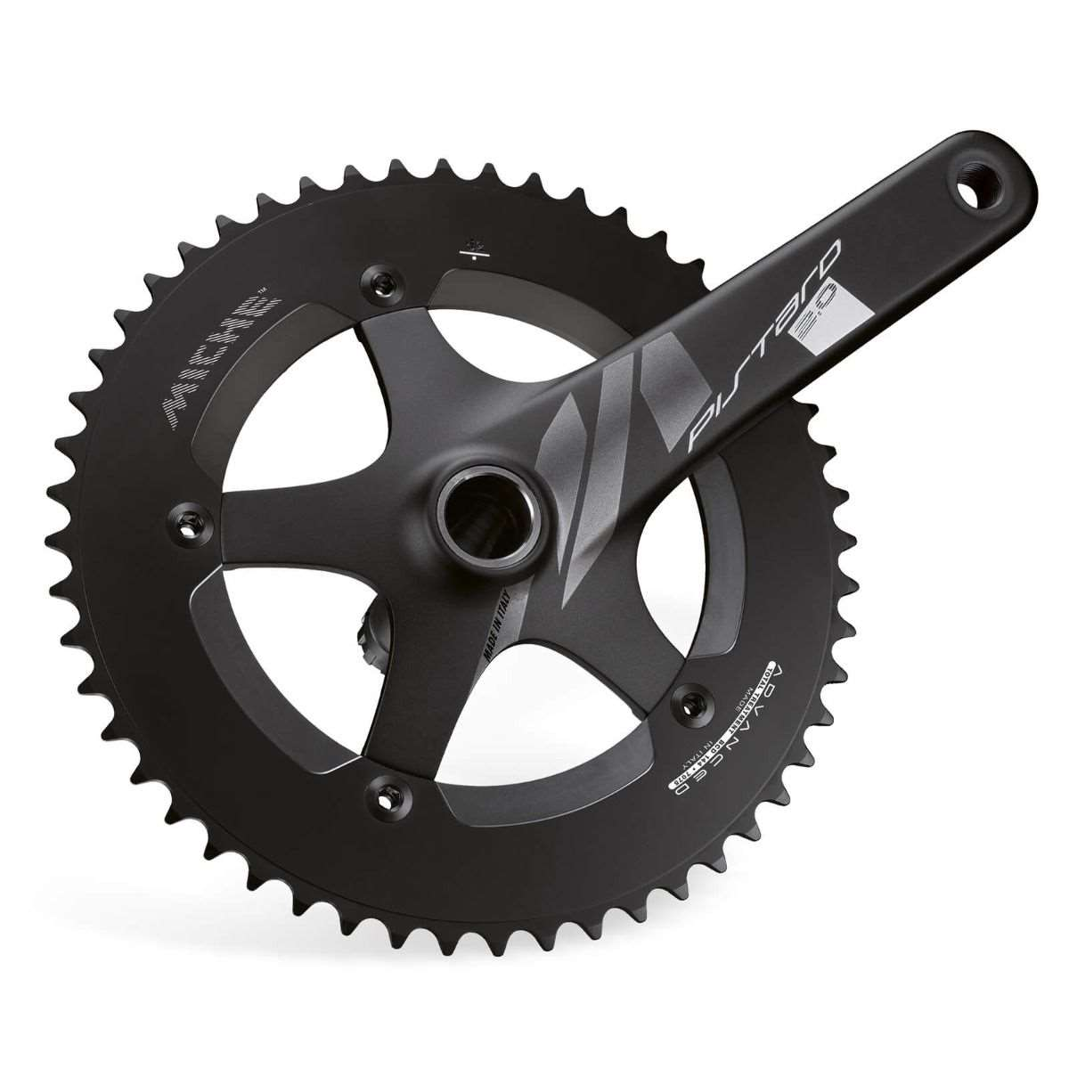 GUARNITURA PISTARD 2.0 165 46T BLACK